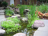 Hyattstown Residence:  Landscape Architects-Wagester Design Group