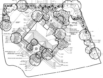 Potomas Residence:  Landscape Architect serving Potomac, Maryland